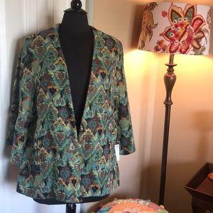 Zara Tapestry Print Jacket